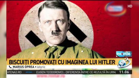 Cum a apărut Hitler pe ambalajul unor pachete de biscuiți din România! E scandal național după campania de popularizare