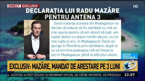 """Radu Mazăre, primele declarații după ce i-a fost admisă extrădarea! """"Am obosit"""""""
