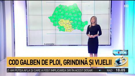Vremea extremă face ravagii în România! A fost emis un nou cod galben de ploi torențiale și furtuni violente, valabil până vineri dimineață