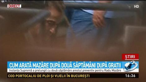 Cum arată Radu Mazăre după două săptămâni în închisoare. A fost dus la instanța supremă - Video