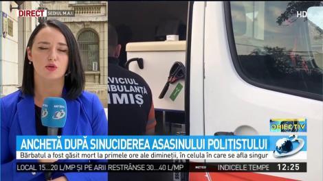 Reacția Poliției Române și a Ministerului Justiției, după sinuciderea lui Ionuț Lepa, ucigașul polițistului din Timiș