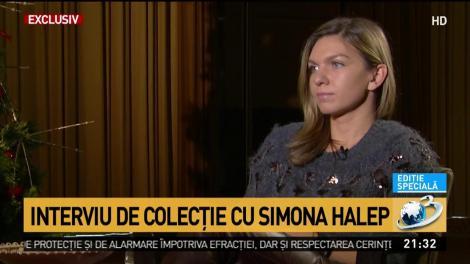 """Interviu de colecție cu Simona Halep: """"Părinții mei au fost mereu blânzi cu mine. Ambiția mea vine de la tata"""""""