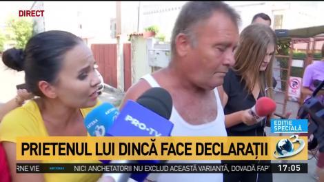 Video. Prietenul lui Gheorghe Dincă, ieșire nervoasă în fața reporterilor! Ce a dezvăluit omul care intra la trei-patru zile în casa suspectului