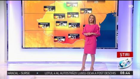 Ploile lovesc, din nou, România! Zonele din țară în care va ploua torențial și vor fi vijelii