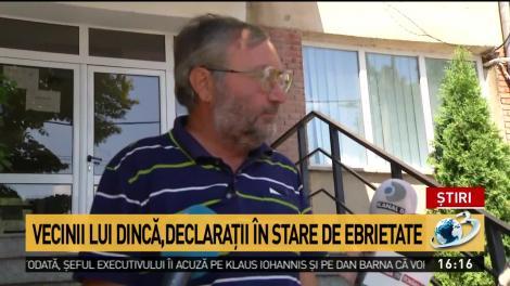 """Vecinii lui Gheorghe Dincă au venit la audieri beți criță: """"Am consumat puțin. Îți zic dacă mai imi dai 500 de grame de coniac"""""""