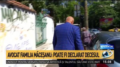 """Avocatul familiei Alexandrei Măceșanu, declarație de ultimă oră! """"Se poate declara decesul"""""""