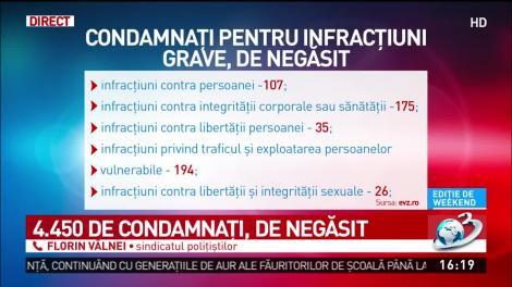 """Autoritățile din România, în alertă maximă! Mii de condamnați sunt de negăsit: """"Au fost dați în urmărire internațională!"""""""