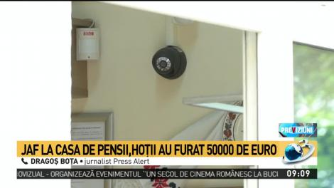 Jaf ca în filme la Casa de Pensii din Timișoara. Hoții au furat 50.000 de euro