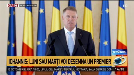 Klaus Iohannis, declarații: Ce se va întâmpla cu salariile și pensiile, și când desemnează un prim-ministru