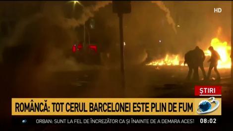 Update: Război pe străzile din Barcelona! 182 de răniţi şi 83 de persoane reţinute