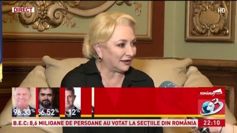 """Alegeri Prezidențiale 2019. Viorica Dăncilă, dezvăluiri în direct! Ce gest a făcut fiul ei pentru ea. """"S-ar putea reduce diferența, dar..."""""""