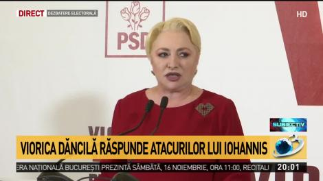"""Viorica Dăncilă, un nou atac la adresa lui Iohannis: """"Refuzurile sunt îngrijorătoare pentru soarta ţării"""""""