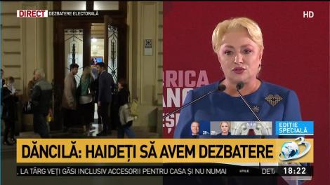 """""""Nu am făcut niciun asalt asupra justiției"""" - Cum explică Viorica Dăncilă intervenția asupra ministrului Justiției"""