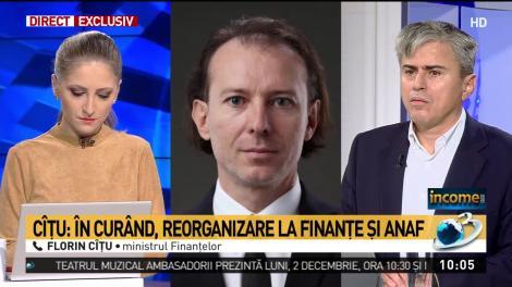 """Ministrul finanțelor, Florin Cîțu, avertisment sumbru: """"Ar putea să existe disponibilizări!"""" Cine sunt cei care și-ar putea pierde joburile"""