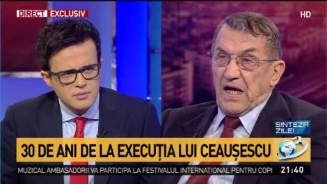 """Avocatul soților Ceaușescu, dezvăluire de senzație după 30 de ani de la Revoluție: """"Mi-am dat seama cine erau teroriștii din România. Noi eram teroriști!"""""""