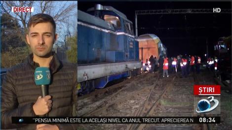 Cum s-a produs accidentul feroviar de lângă Ploiești. Mecanicii de tren erau abia ieșiți de pe băncile școlii