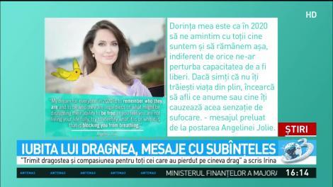 Iubita lui Dragnea, mesaj cu subînțeles în noaptea dintre ani. Ce a scris pe internet Irina Tănase