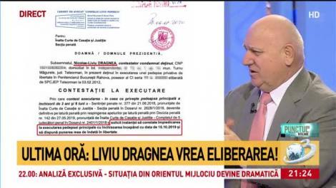 Ultima oră: Liviu Dragnea vrea eliberarea. Ce a scris în cererile depuse la Înala Curțe de Casație și Justiție - Secția Penală