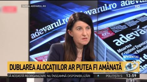 Ministrul Muncii, lovitură pentru români! Dublarea alocațiilor ar putea fi amânată până la vară