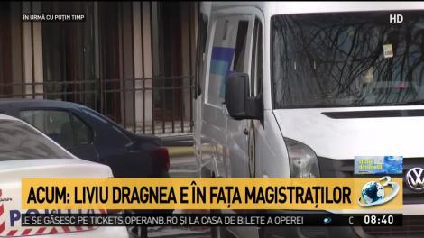 Liviu Dragnea a ajuns în fața magistraților