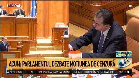 Ponta către Orban: Să știți că eu m-am operat la picior, nu am fost la o clinică de dezalcoolizare