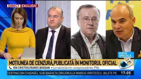 Rareș Bogdan: PNL merge tot cu Orban premier