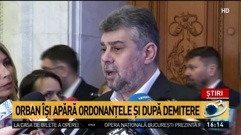 Ciolacu: E o criză provocată de Orban și PNL