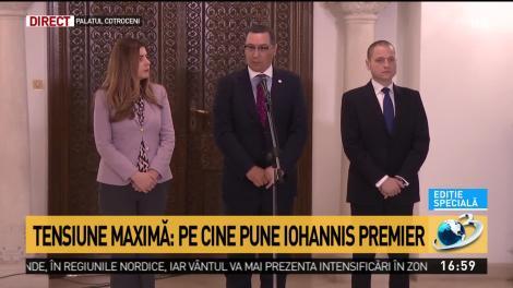 Ponta: Nu îl vom vota pe Ludovic Orban