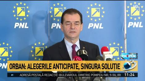 Orban: Eu sunt propunerea de premier a PNL