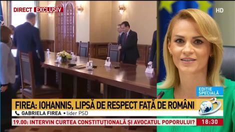 Firea: e o lipsă de respect față de români
