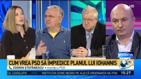 Codrin Ștefănescu: Suntem într-o plină criză politică