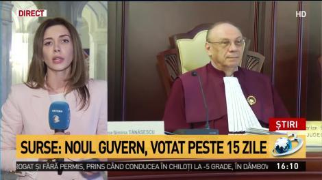 Surse: Noul Guvern, votat peste 15 zile