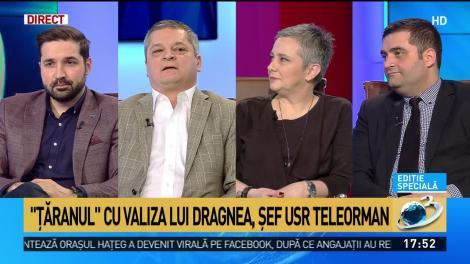 """""""Ţăranul'' cu valiza lui Dragnea, şef USR Teleorman"""