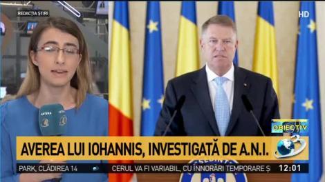"""Averea lui Iohannis, investigată de A.N.I.! Informații bombă, """"scăpate"""" într-un document întocmit de procurori"""