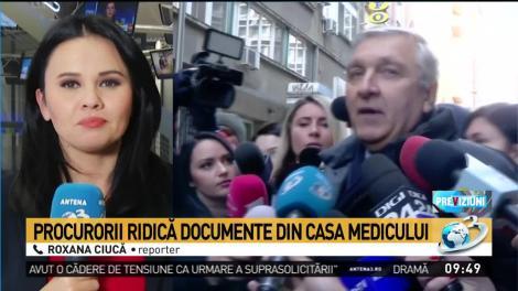 Casa medicului Mircea Beuran, înconjurată de mascați! Se fac pecheziții, într-un nou dosar. Ce au căutat procurorii?