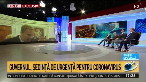 Costache: Dau un mesaj de calm. În România nu avem niciun caz de coronavirus