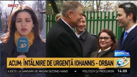 Orban, chemat de Iohannis la Cotroceni