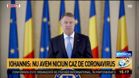 """Coronavirus în România? Președintele Klaus Iohannis, apel către întreaga țară: """"Este esenţial!"""" - Video"""