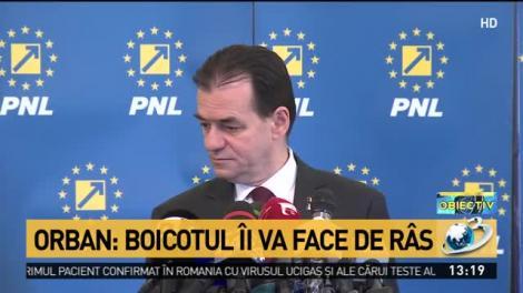 Orban: Votul vrem să fie joi sau cel târziu luni