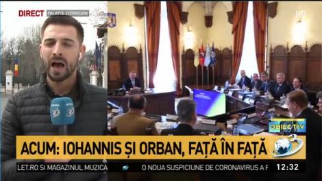Klaus Iohannis şi Ludovic Orban, faţă în faţă