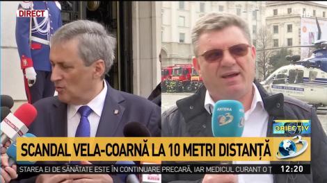 Cum răspunde Dumitru Coarnă acuzaţiilor făcute de Marcel Vela