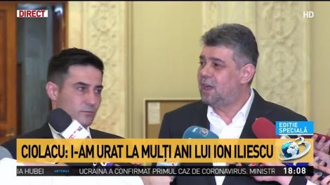 Ciolacu: Mergem în sală și votăm împotrivă