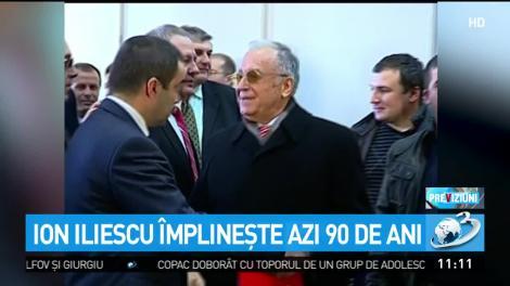 Ion Iliescu împlineşte astăzi 90 de ani