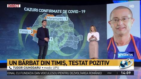 """Patru români infectați cu noul tip de coronavirus. Medic UPU, apel către populație: """"Măsurile de prevenție trebuie respectate cu sfințenie!"""""""
