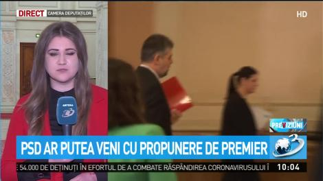 PSD ar putea veni cu propunere de premier