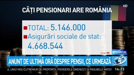 Pensiile românilor, majorate cu 40 la sută. În ce condiții ar putea crește veniturile acestora și cine sunt persoanele vizate