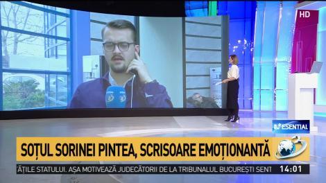 """Sorina Pintea e """"omorâtă prin agresivitatea organelor de urmărire penală"""". Soțul fostului ministru, scrisoare deschisă"""