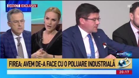 Firea: Miniştrii Alexe şi Popescu vor avea plângeri penale. Poluarea a venit de la CET Grozăveşti, unde s-a ars păcură
