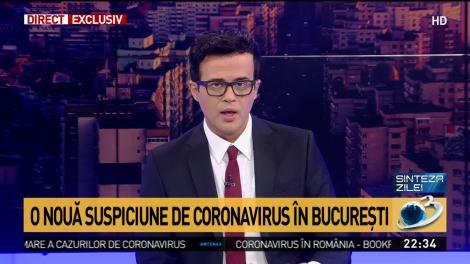 Studentă din București, posibil infectată cu coronavirus, transportată la spital