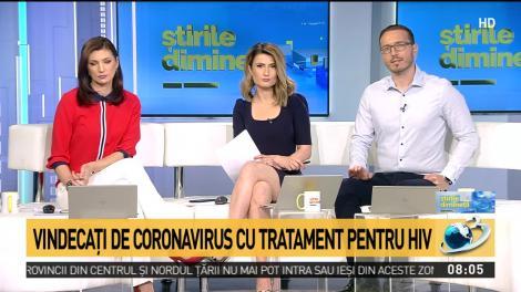 Vindecaţi de coronavirus cu tratament pentru HIV